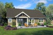 Craftsman Style House Plan - 3 Beds 2 Baths 1605 Sq/Ft Plan #48-998