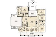 Farmhouse Style House Plan - 4 Beds 2.5 Baths 2643 Sq/Ft Plan #36-465 Floor Plan - Main Floor