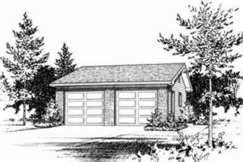 Dream House Plan - Traditional Exterior - Front Elevation Plan #22-451
