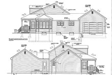 House Plan Design - Classical Exterior - Other Elevation Plan #3-289