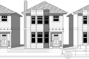 Traditional Exterior - Front Elevation Plan #423-26
