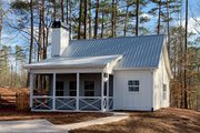 Country Style House Plan - 2 Beds 1 Baths 793 Sq/Ft Plan #437-98 Exterior - Front Elevation