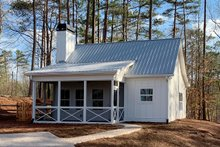 Home Plan - Country Exterior - Front Elevation Plan #437-98