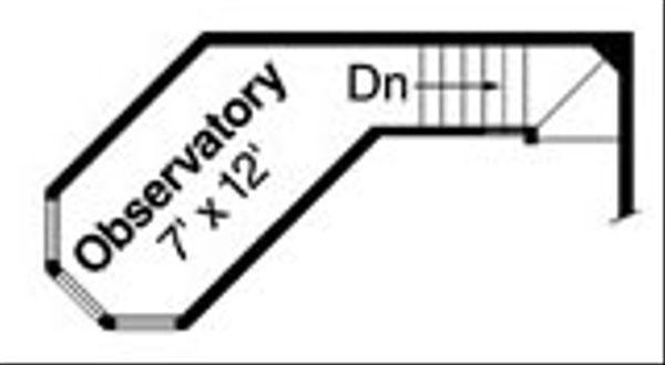 House Plan Design - Craftsman Floor Plan - Upper Floor Plan #124-784
