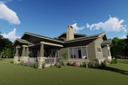 Craftsman Style House Plan - 4 Beds 3.5 Baths 3690 Sq/Ft Plan #1069-12 Exterior - Other Elevation