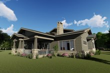 Dream House Plan - Left Rear