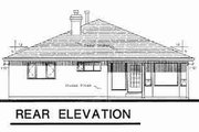 Traditional Style House Plan - 3 Beds 2.5 Baths 2505 Sq/Ft Plan #18-9054 Exterior - Rear Elevation