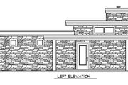 Modern Style House Plan - 2 Beds 2 Baths 1076 Sq/Ft Plan #509-8 Exterior - Other Elevation