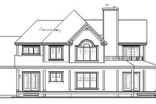 Dream House Plan - Country Exterior - Other Elevation Plan #23-744
