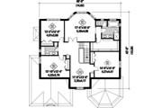 European Style House Plan - 4 Beds 2 Baths 3385 Sq/Ft Plan #25-4692 Floor Plan - Upper Floor Plan