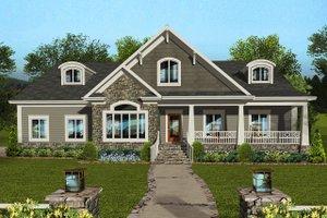 Craftsman Exterior - Front Elevation Plan #56-711