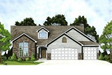 Home Plan - Traditional Exterior - Front Elevation Plan #58-178