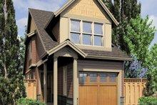 Cottage Exterior - Front Elevation Plan #48-570