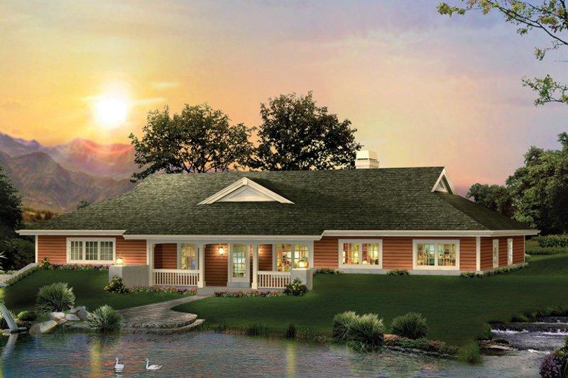 House Plan - 3 Beds 2 Baths 2163 Sq/Ft Plan #57-579