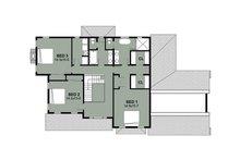 Farmhouse Floor Plan - Upper Floor Plan Plan #497-11