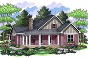 Country Style House Plan - 3 Beds 2 Baths 2273 Sq/Ft Plan #51-486 Exterior - Front Elevation