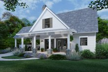 Cottage Exterior - Front Elevation Plan #120-273