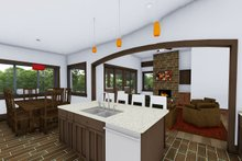 Architectural House Design - Living Room/Kitchen/Dining Room