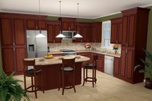 Architectural House Design - Southern Photo Plan #21-209