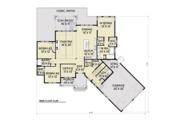 Craftsman Style House Plan - 3 Beds 2.5 Baths 2297 Sq/Ft Plan #1070-15 Floor Plan - Main Floor