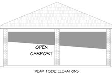 Contemporary Exterior - Other Elevation Plan #932-83