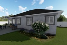 Architectural House Design - Ranch Exterior - Rear Elevation Plan #1060-39