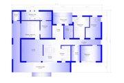 Modern Style House Plan - 4 Beds 2 Baths 1505 Sq/Ft Plan #549-3 Floor Plan - Main Floor Plan