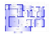Modern Style House Plan - 4 Beds 2 Baths 1505 Sq/Ft Plan #549-3 Floor Plan - Main Floor Plan