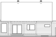 Contemporary Exterior - Rear Elevation Plan #23-2726