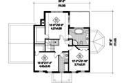 Colonial Style House Plan - 3 Beds 1 Baths 2153 Sq/Ft Plan #25-4792 Floor Plan - Upper Floor Plan