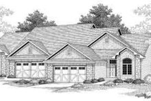 Dream House Plan - Traditional Exterior - Front Elevation Plan #70-741