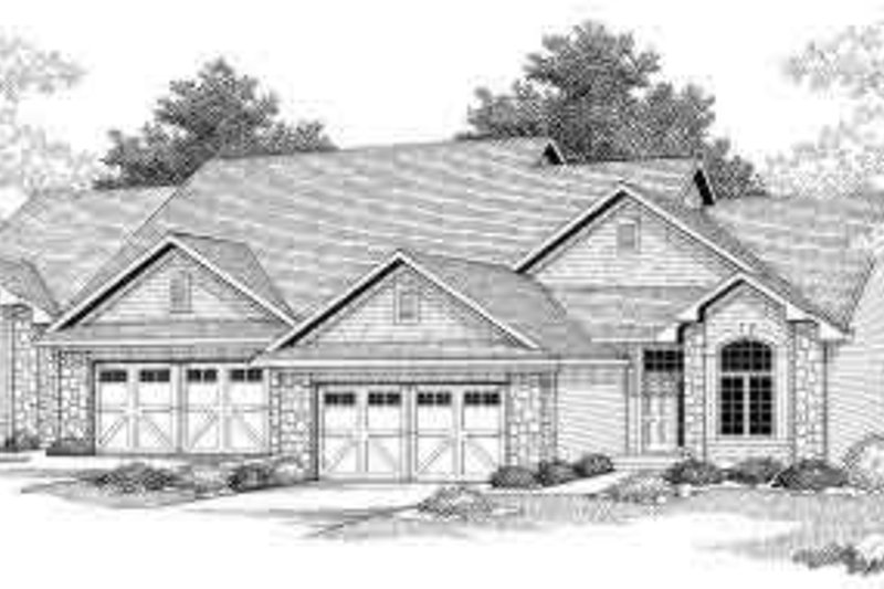 Traditional Exterior - Front Elevation Plan #70-741