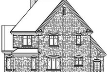 Victorian Exterior - Rear Elevation Plan #23-842