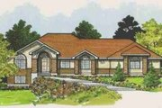 Traditional Style House Plan - 7 Beds 3 Baths 4437 Sq/Ft Plan #308-128 Exterior - Front Elevation