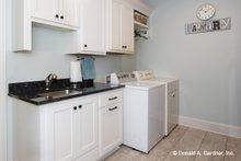 Home Plan - Ranch Interior - Laundry Plan #929-1059