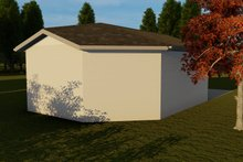 Dream House Plan - Traditional Exterior - Rear Elevation Plan #1060-93