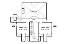 Country Floor Plan - Upper Floor Plan Plan #929-18