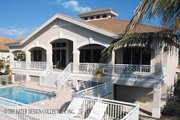 Mediterranean Style House Plan - 3 Beds 3 Baths 2494 Sq/Ft Plan #930-161 Exterior - Rear Elevation