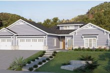 Dream House Plan - Ranch Exterior - Front Elevation Plan #1077-9