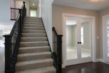 Traditional Interior - Entry Plan #20-2126