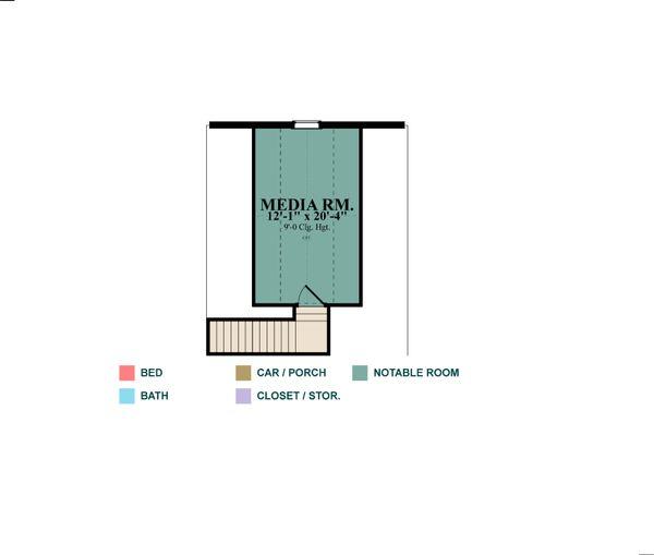 Traditional Floor Plan - Other Floor Plan Plan #63-403