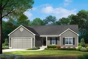 Ranch Style House Plan - 3 Beds 2.5 Baths 1819 Sq/Ft Plan #22-630