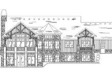 Home Plan - Craftsman Exterior - Rear Elevation Plan #5-259