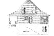 House Design - Farmhouse Exterior - Other Elevation Plan #406-178