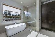 Modern Style House Plan - 4 Beds 4 Baths 3712 Sq/Ft Plan #892-17 Interior - Master Bathroom