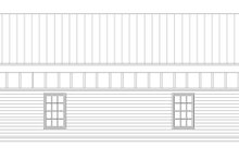Contemporary Exterior - Other Elevation Plan #932-210