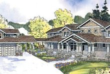 Home Plan - Craftsman Exterior - Front Elevation Plan #124-674