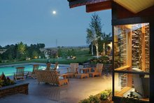 House Plan Design - Ranch Exterior - Rear Elevation Plan #48-433