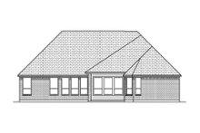 Home Plan - European Exterior - Rear Elevation Plan #84-485