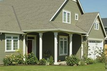 Dream House Plan - Front View - 2100 square foot Craftsman home